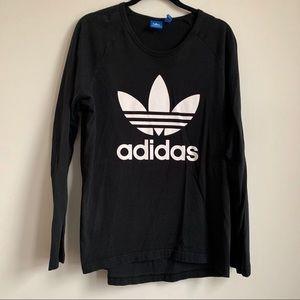 Adidas | Originals Black Long Sleeve Tee